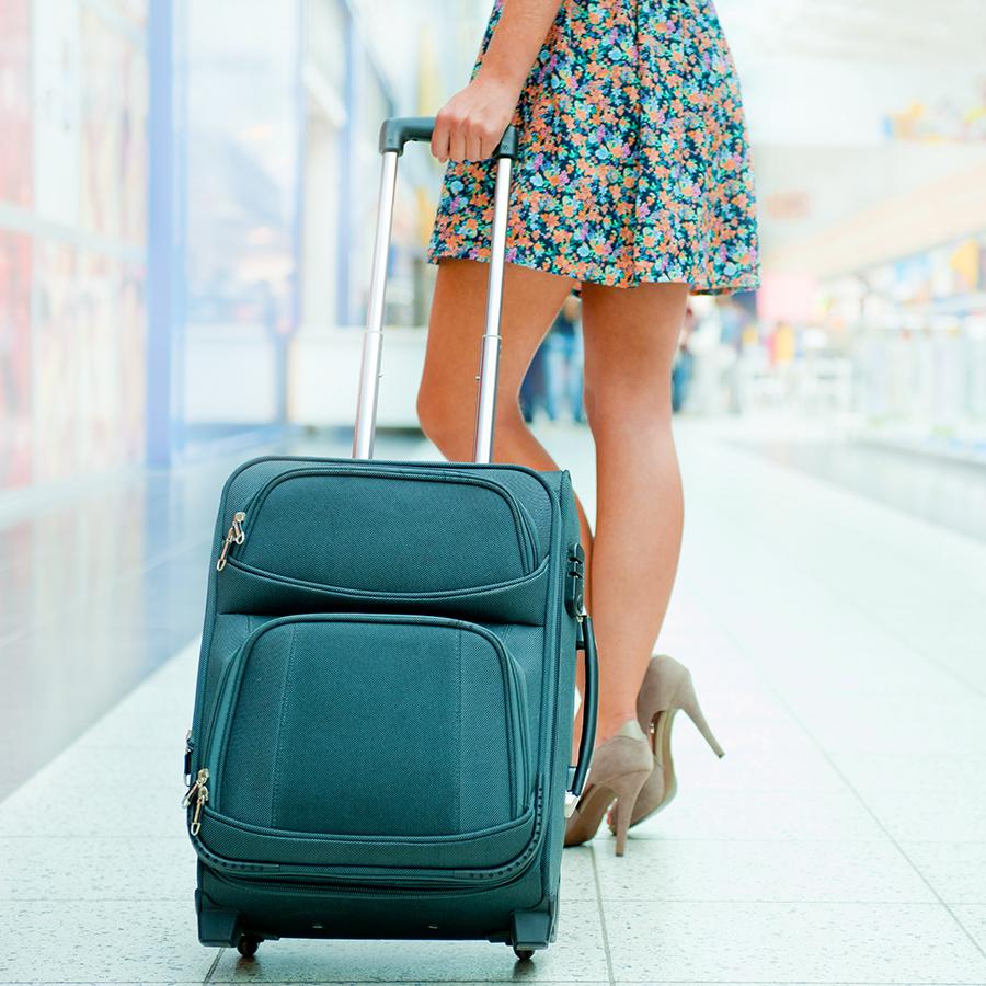 Фото девушек в поездке